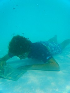 2nd Prize - Underwater Extreme Reading!