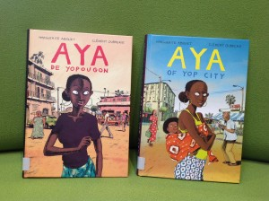 aya book covers