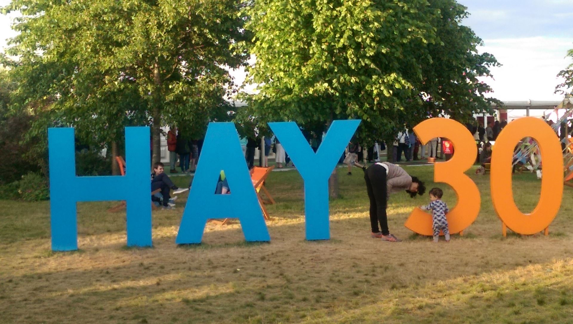 Last Week Saw The 30th Hay Festival – A Vibrant Tented Gathering Of  Writers, Thinkers And Readers Of All Ages In The Beautiful Welsh  Countryside And 'book